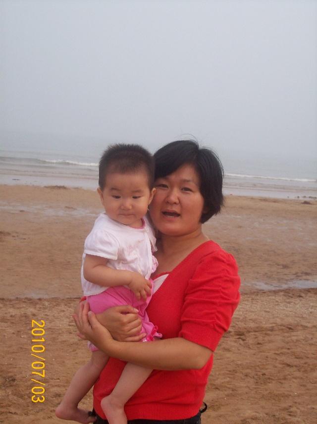 2010.7.3---开心的笑  2010.7.3--石老人海水浴场.