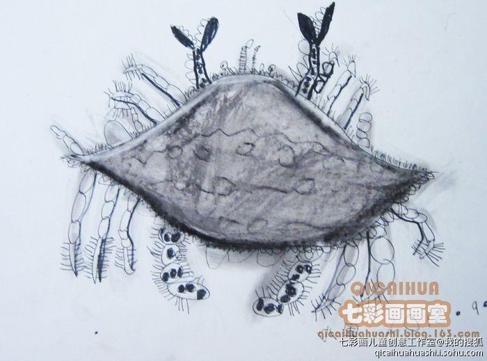 画鱼的步骤 素描