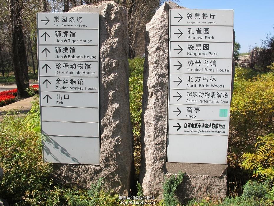 】秋游北京野生动物园
