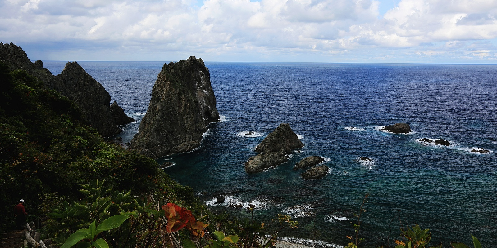 积丹岛武意海岸--(周游北海道之9)