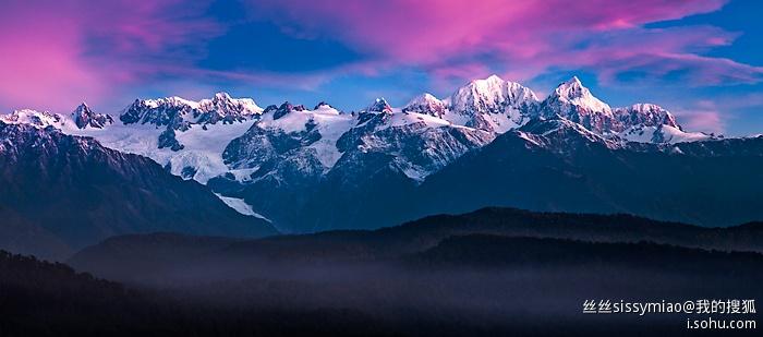 紐西蘭南島雪山