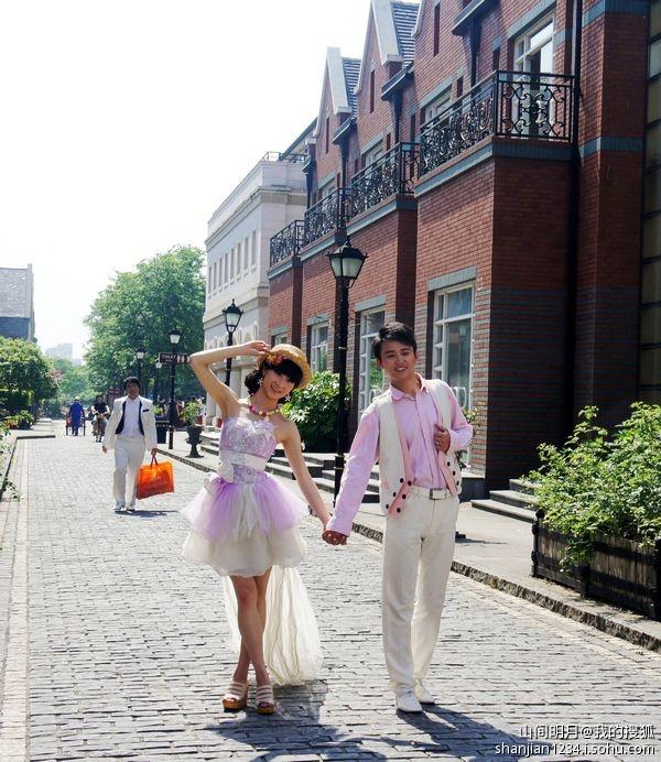 上海新浪漫风情——泰晤士小镇图片