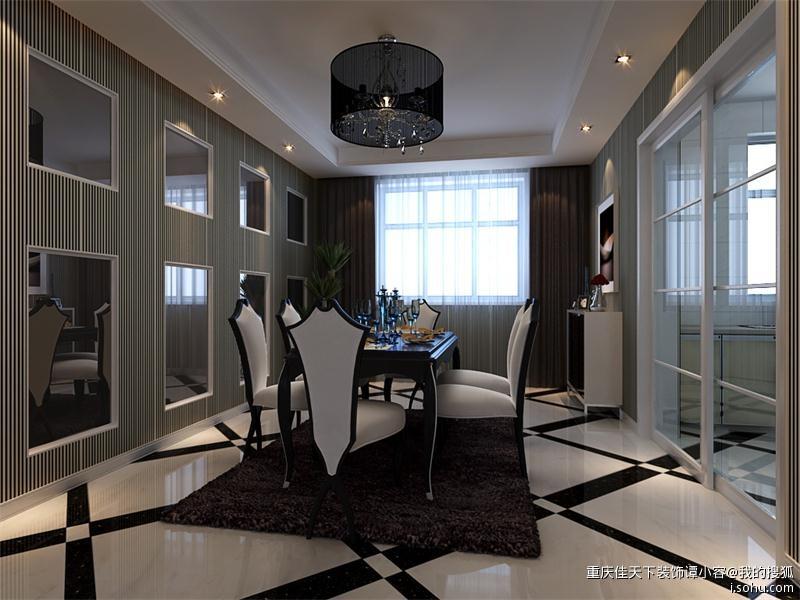 四居室200平米后现代风格装修设计效果图