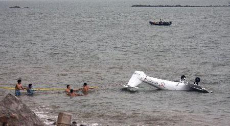 珠海 小型飞机坠海