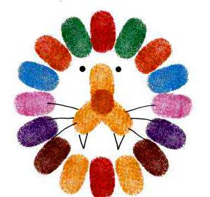 幼儿园指纹画作品_幼儿美术的指纹范画_幼儿999
