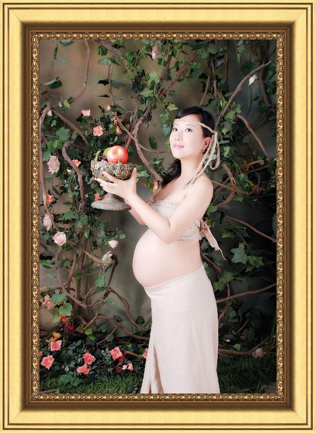 孕妈妈艺术照-月色-搜狐博客