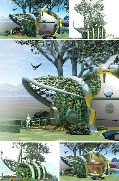 未来楼房设计图片
