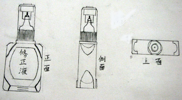 手绘线条图像————物象的多视角歌表达