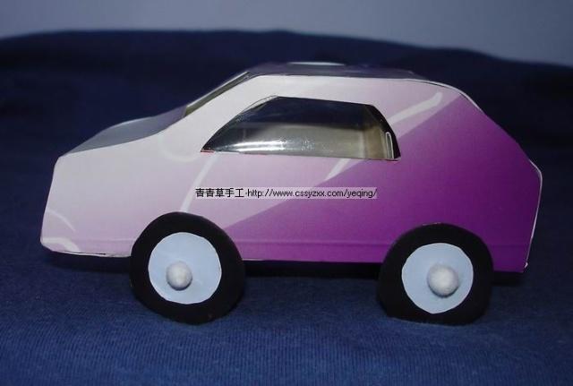 牙膏盒做汽车-莲荷少儿美术吧-搜狐博客