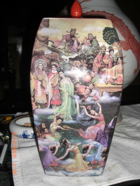 古代绘画陶瓷步骤