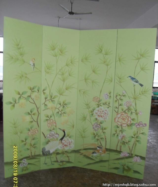 手绘墙纸,艺术壁纸,装饰绘画,及其他手绘软装饰品的设计,制作的公司