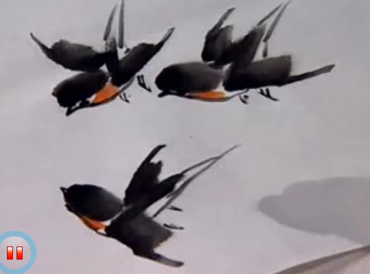 手工制作燕子尾巴