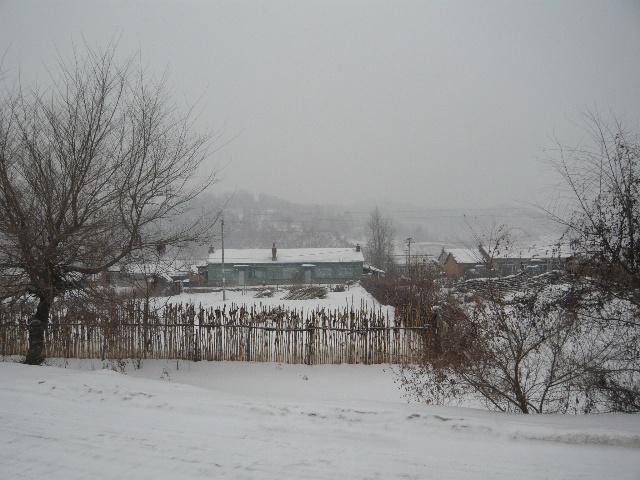 霜降景色手绘图