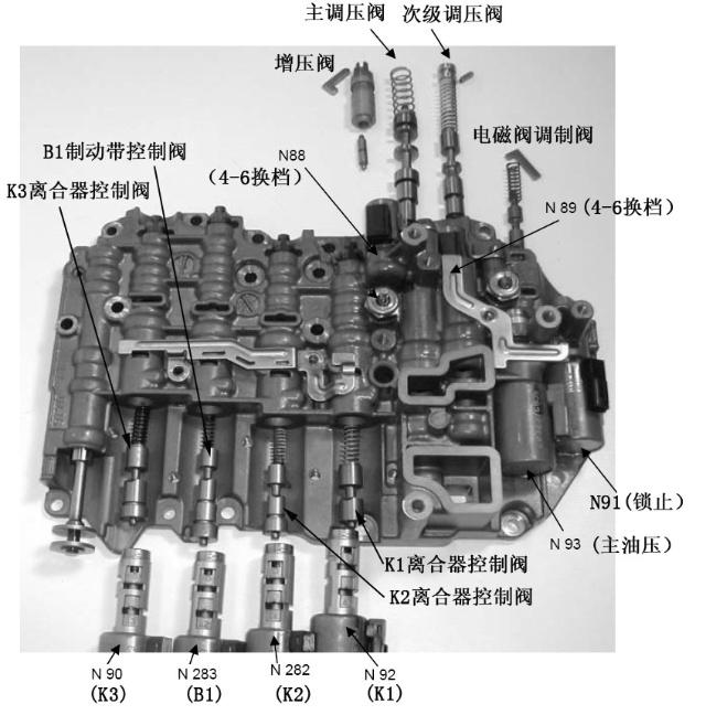 09g变速箱电脑电路图