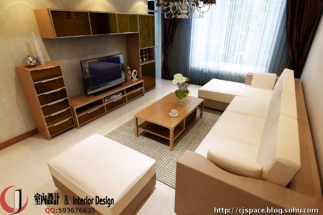 客厅板式家具