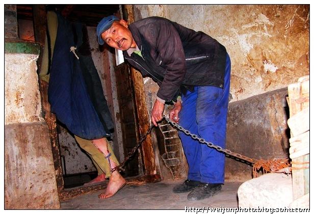铁链镣铐锁美女镣铐美女捆女人方法加手脚镣铐脚镣