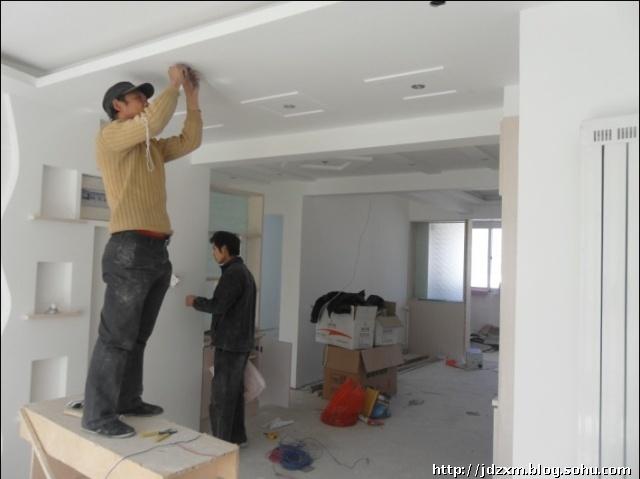 小区走廊吊顶效果图