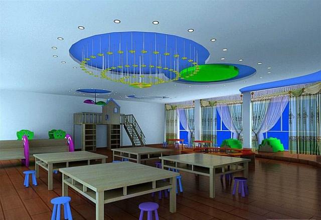 郑州幼儿园装修五大注意事项——橄榄树装饰