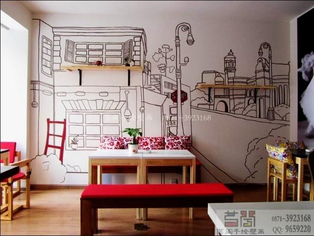 关于手绘墙画-taigeart涂鸦手绘-我的搜狐