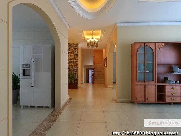走廊装修效果图 入门