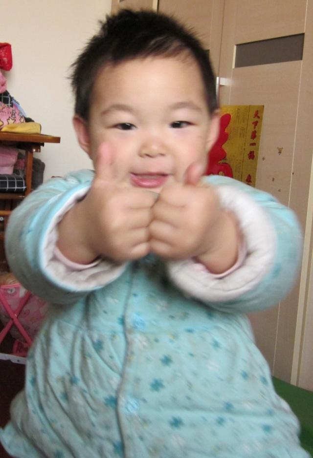 一岁十个月的豆豆,小可爱一个-宝贝-甜豆豆-搜狐博客