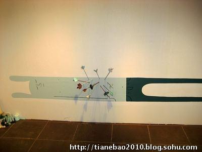 精致创意手绘墙 打造你的私家风景&包头天鹅堡手绘