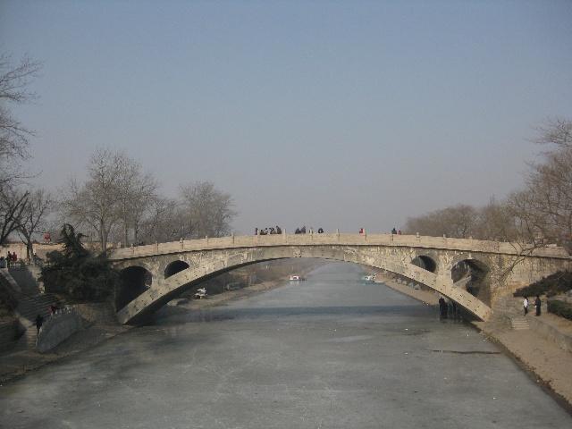 1991年 美国土木工程师学会认定赵州桥为国际土木工程历史古迹