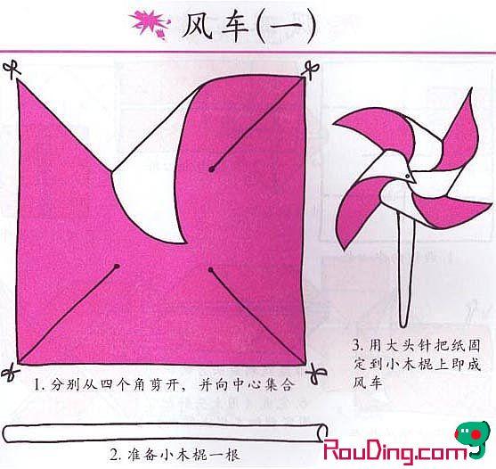 风车的制作方法