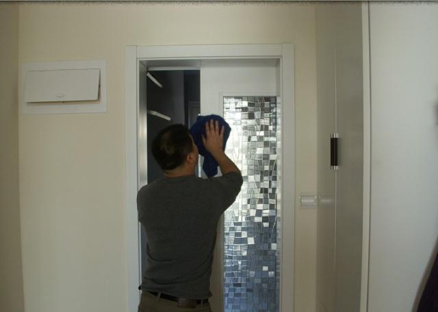 厨房单扇移门效果图_图片素材