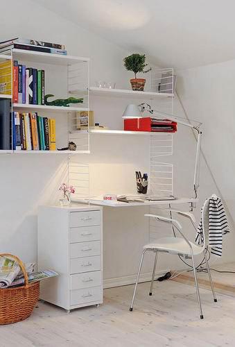 现代简约家居装修图 家具与墙壁的绝美搭配90