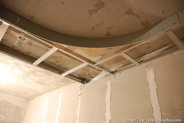 欧式石膏圆角吊顶