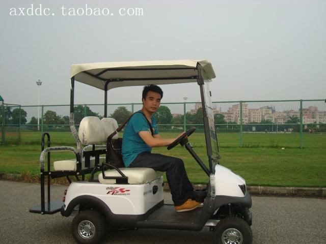 电动代步车   而事实上现在开发出来以高尔夫球车为原型的四高清图片