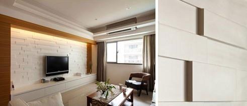 居家经验:墙面造型挑选与多元视觉变化!