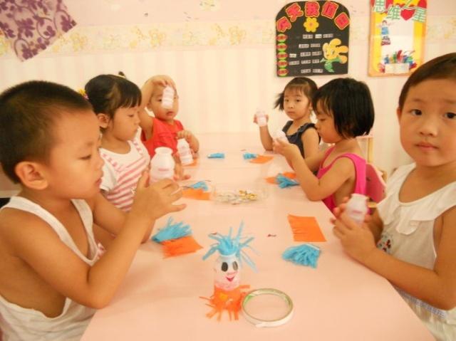 幼儿园纸壳手工制作