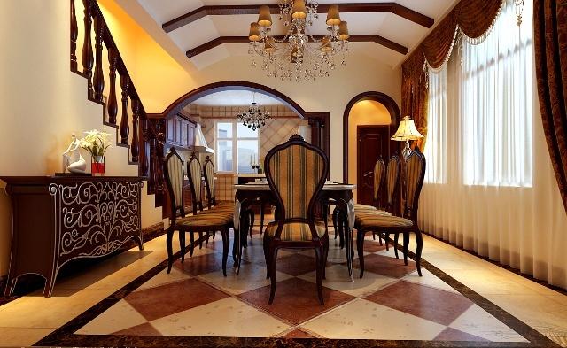 丹佛尔湾别墅254平欧式风格装修美的让你留口水-北京