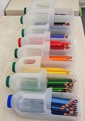饮料瓶废物利用小制作 高清图片