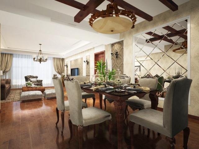 153平房子装修欧式田园风格,与时俱进的亮点 武汉实创装饰
