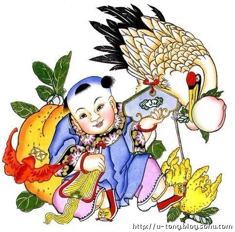 中国民间年画四大家
