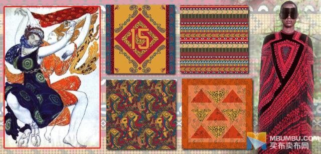 佩斯利花纹和豹纹印花融合,彰显藏族格调,民族风提花地毯启发全身印花
