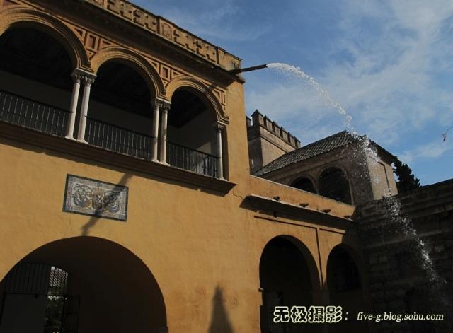西班牙塞尔维亚之伊斯兰风格宫殿建筑