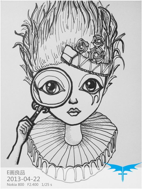 情感漫画系列—— 小正太 小清新 大头娃娃