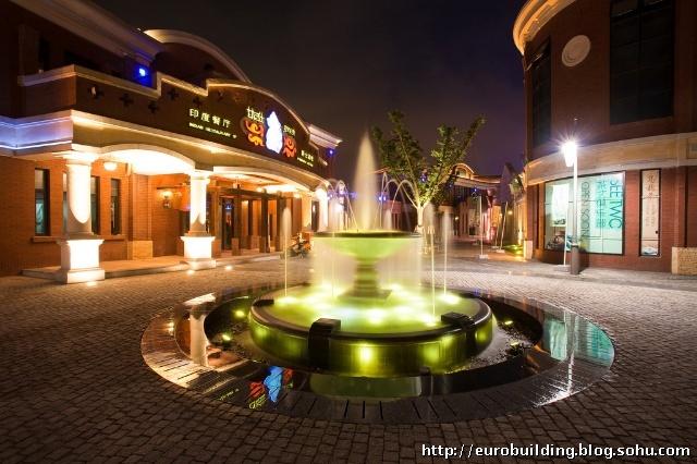 城市滨水商业街景观设计探讨——以苏州工业园区月光码头欧式风情商业