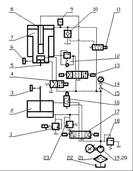 攻丝机的设计原理图攻丝机夹头结构图自动攻丝机; 液压机上伺服电机
